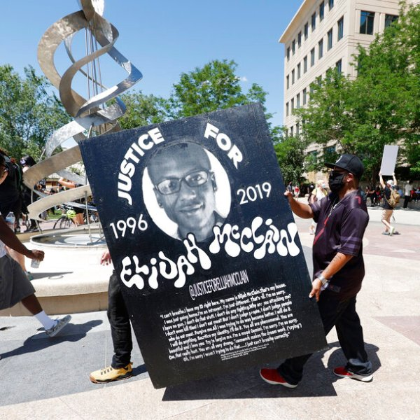 Cop who stopped Elijah McClain fired over chokehold photos