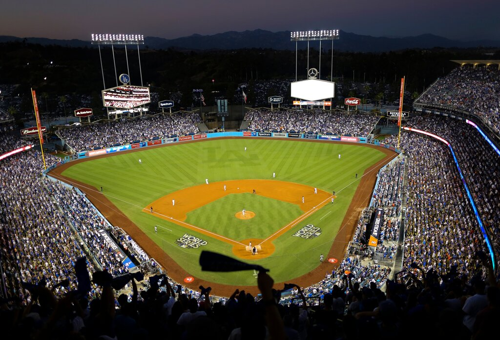 Dodger Stadium 2020 All Star Game Baseball