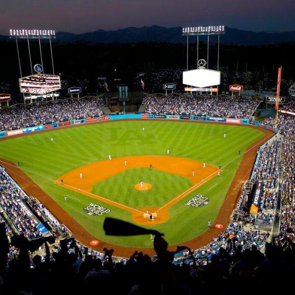 Dodger Stadium 2020 All Star Game Baseball