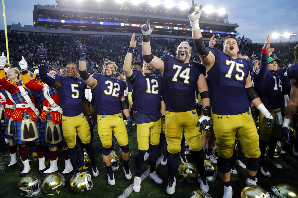 ACC Notre Dame Football
