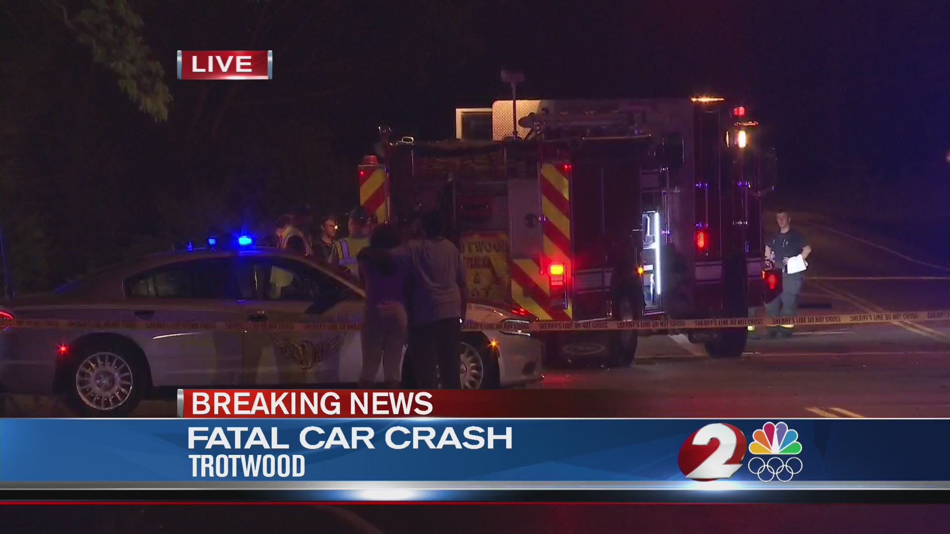 Fatal car crash in Trotwood