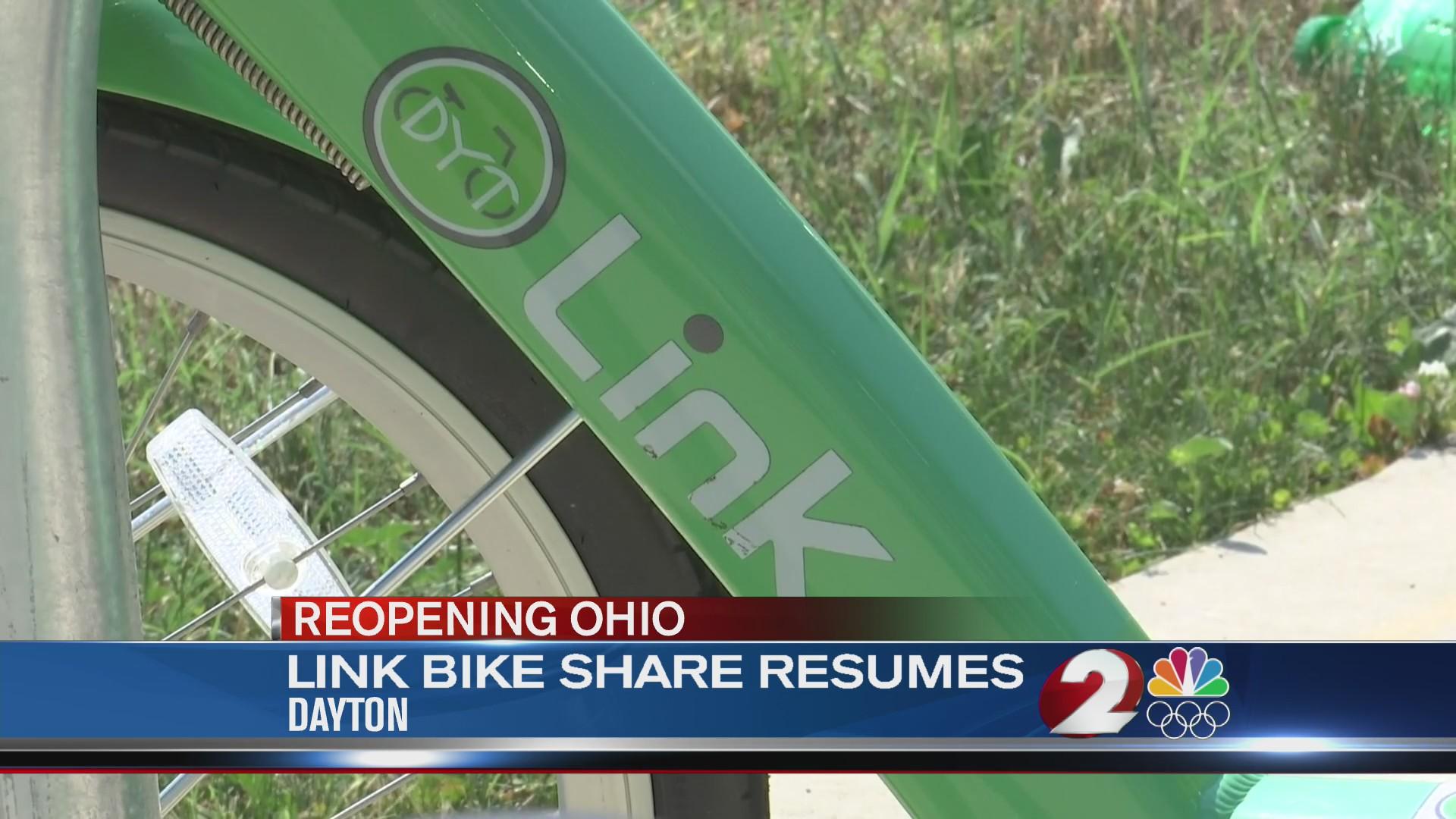Link bike share resumes
