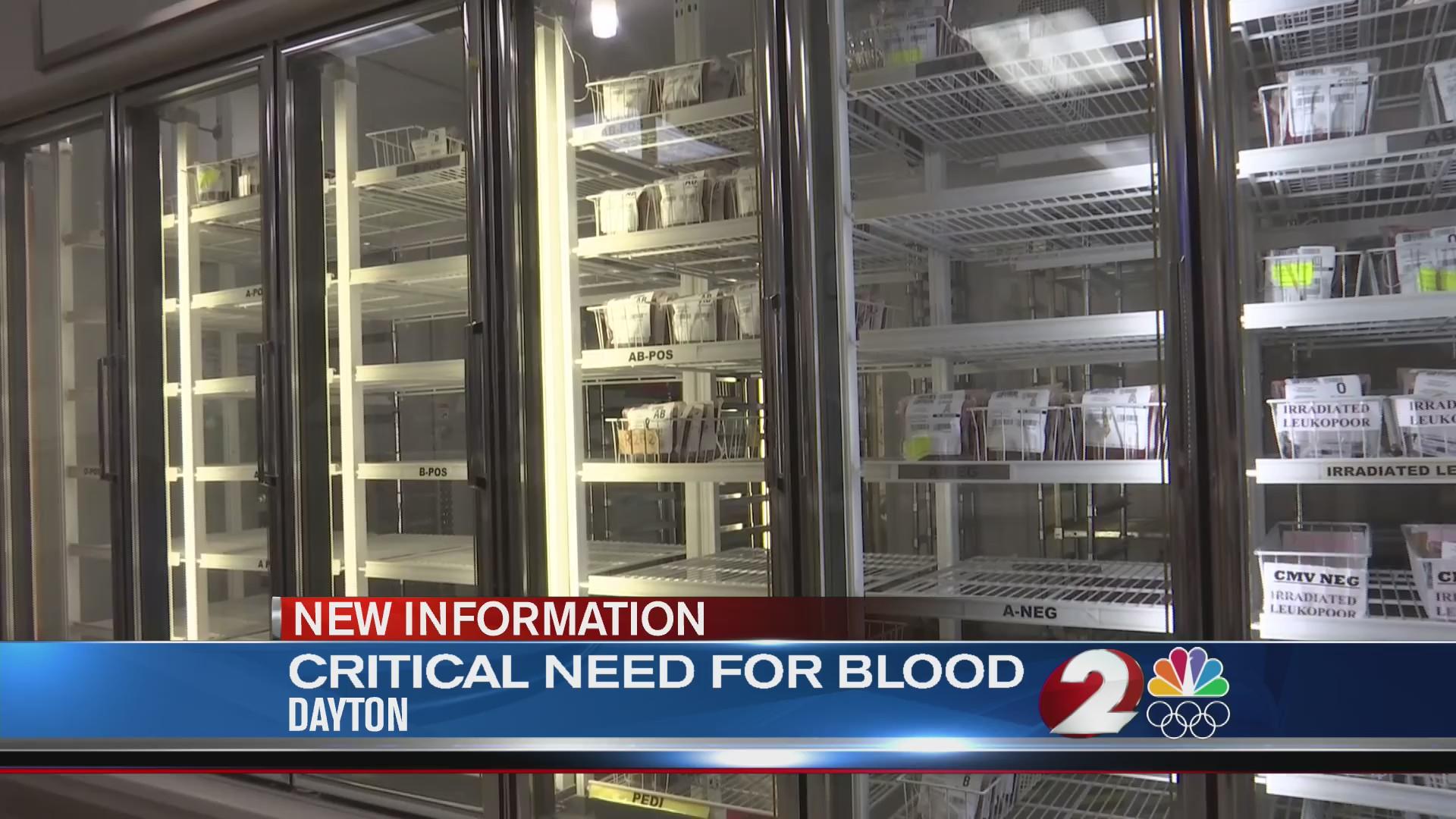 Need for blood Dayton
