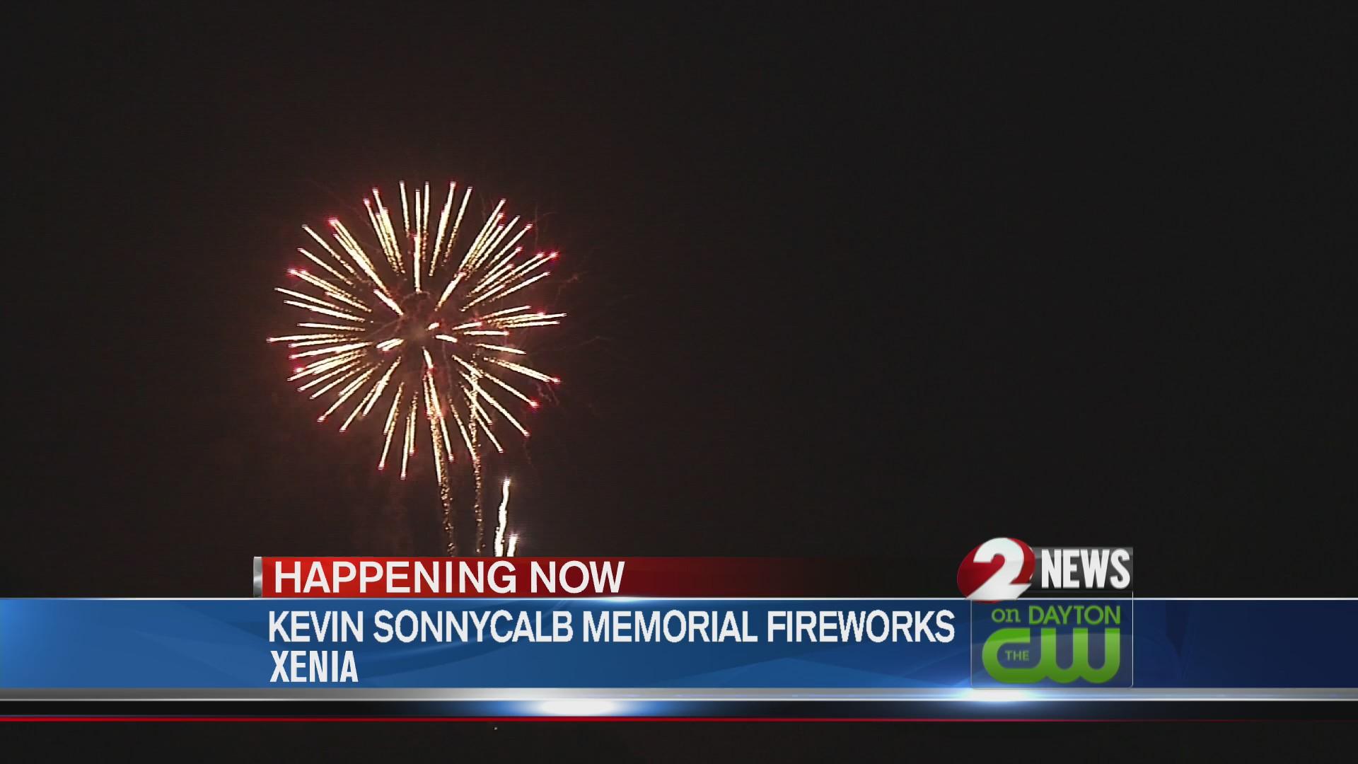 Xenia fireworks