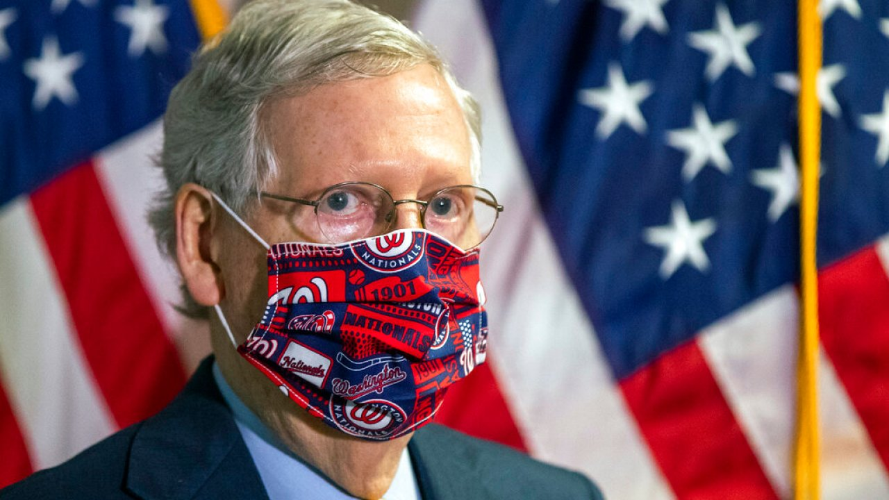 Republicans, with exception of Trump, now push mask-wearing
