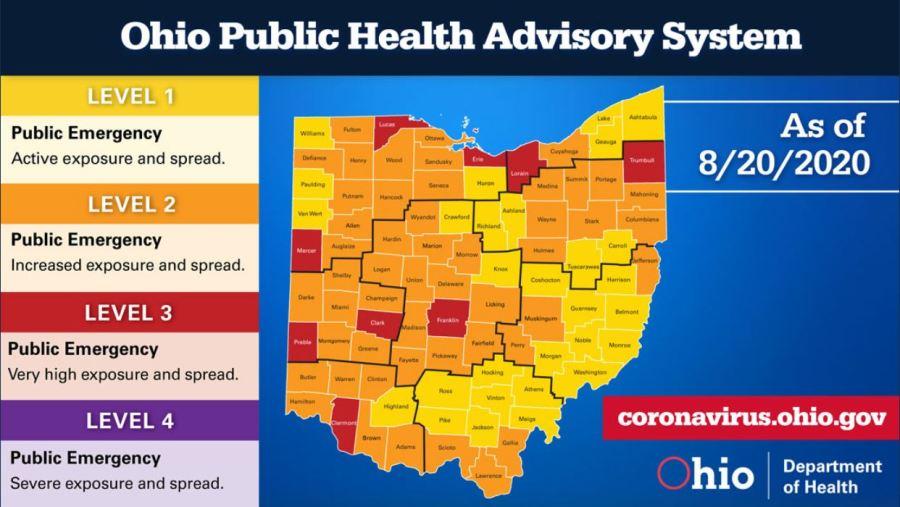 8-20 Public Health Advisory Map