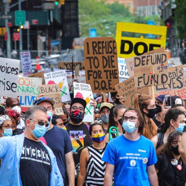 Virus Outbreak School Reopening NYC