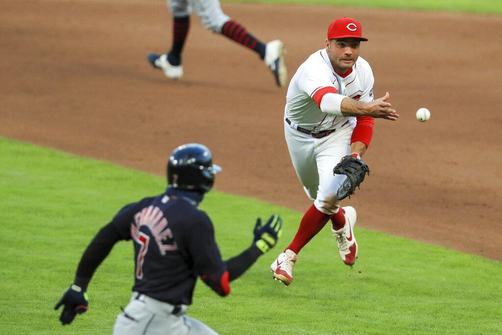 Indians Reds Baseball