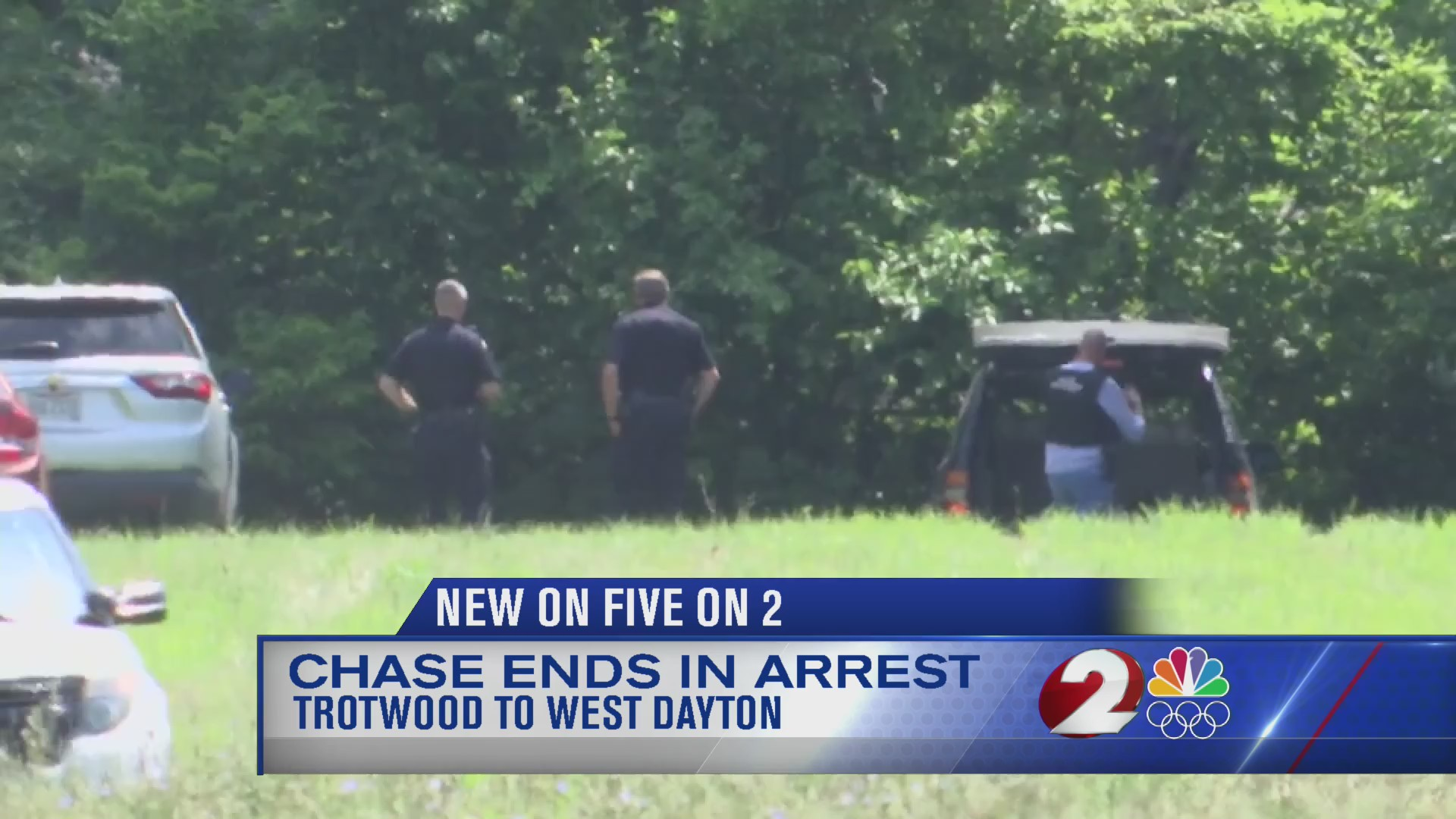 Chase ends in arrest