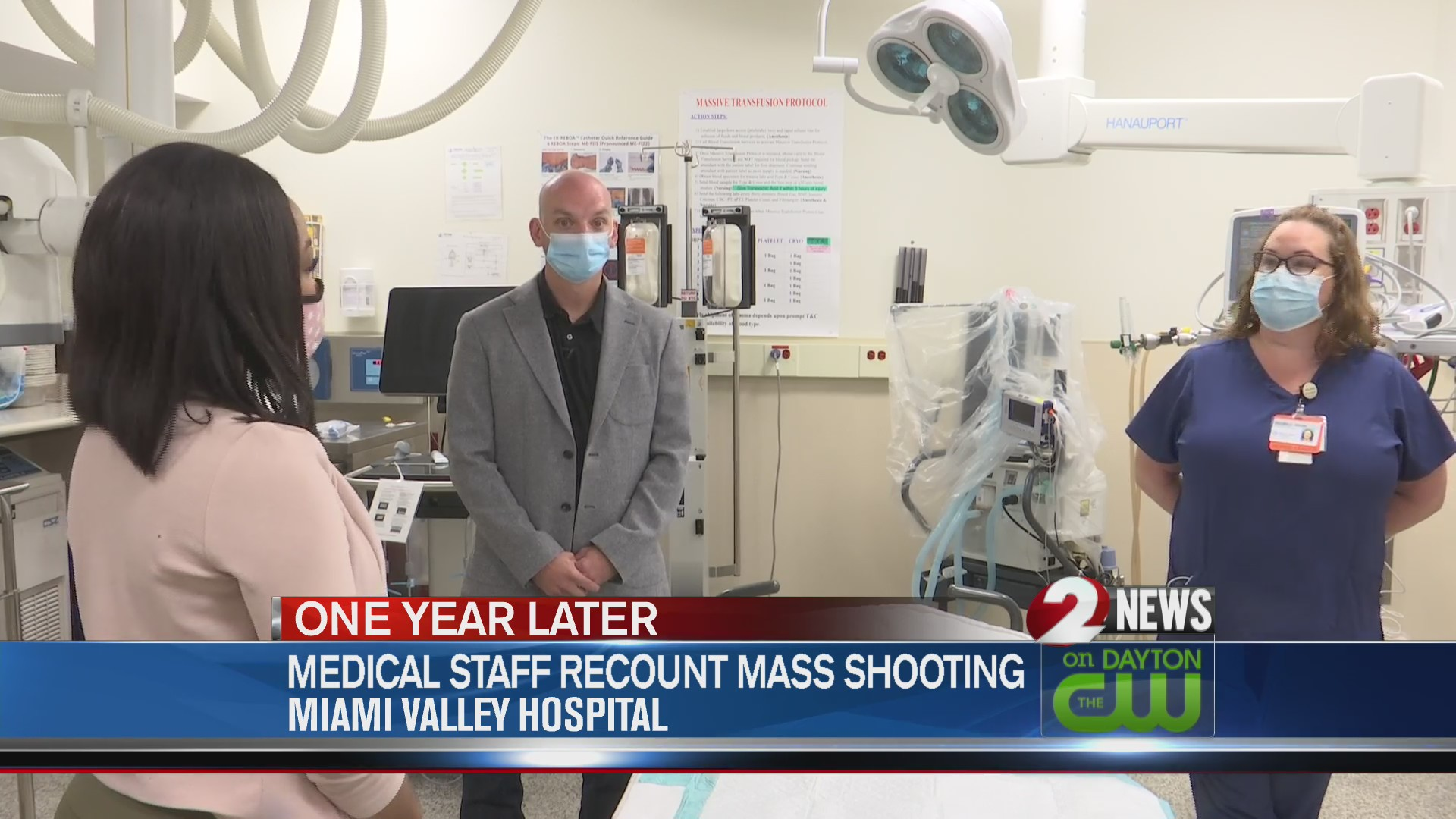 ER doctor, nurse recall feeling 'helpless' while attending to Oregon District shooting victims
