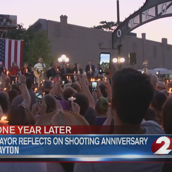 Mayor reflects on year since shooting