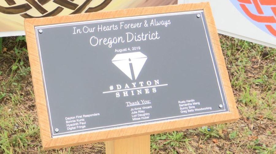 Memorial Tree plaque