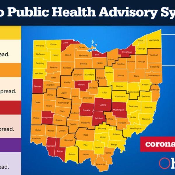 Public Advisory Map 8-13