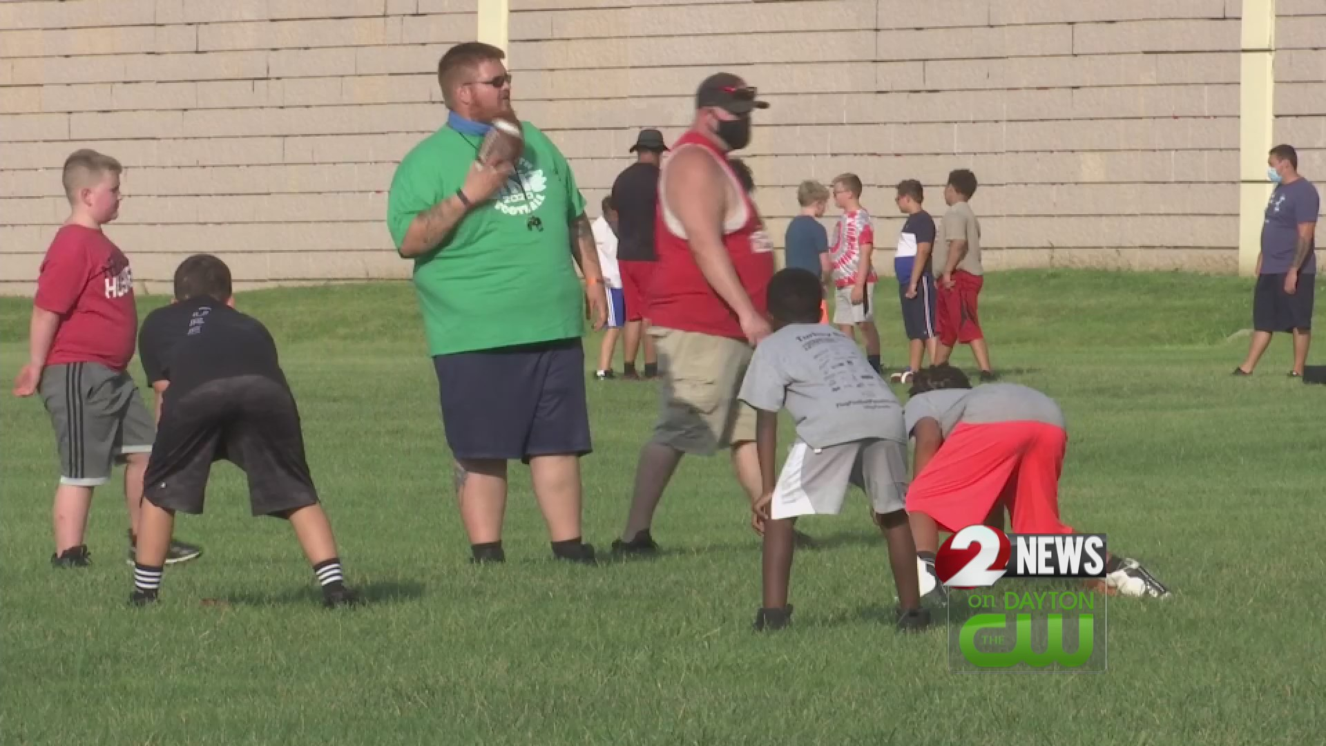 Youth football adjusting to pandemic