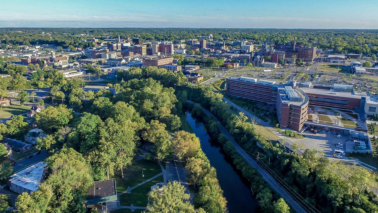 City of Springfield Ohio Sky