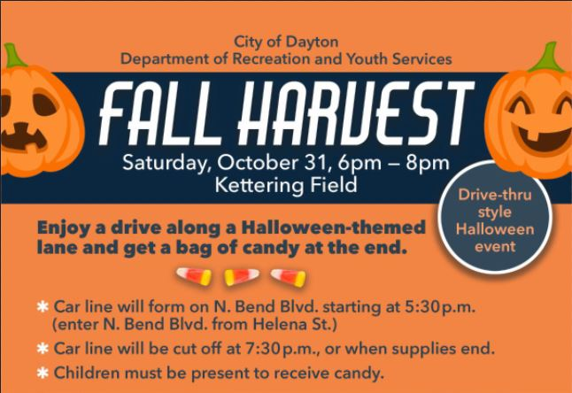 Helena Halloween Events 2020 City of Dayton hosting drive thru trick or treat event for