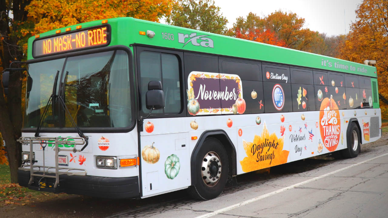 11-11 RTA bus