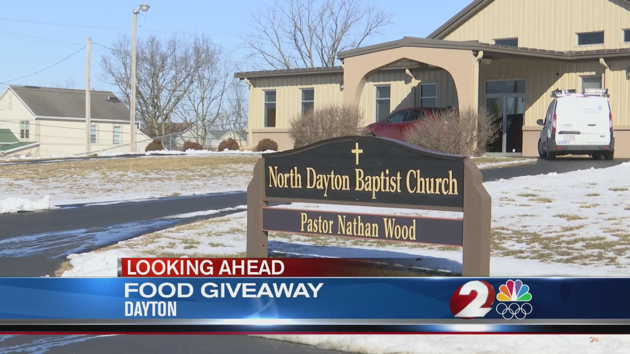 Dayton church to host food giveaway Thursday