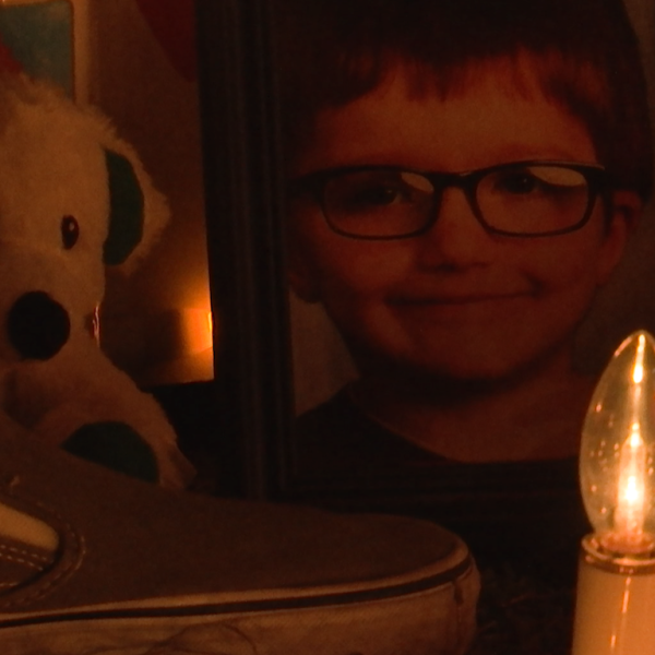 6-year-old James Hutchinson vigil