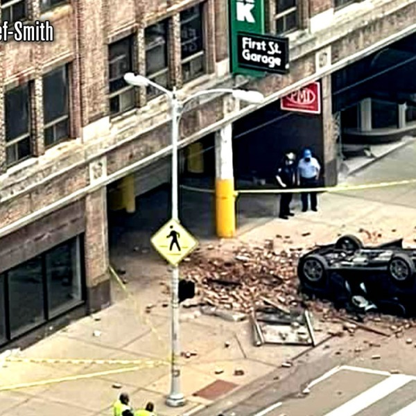 3-25 Dayton Parking Garage Crash