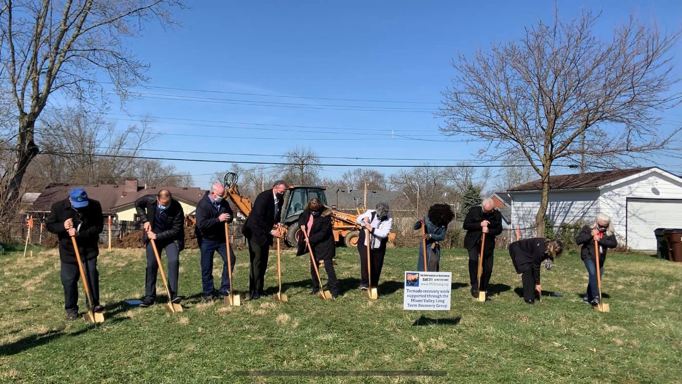 Groundbreaking for new home