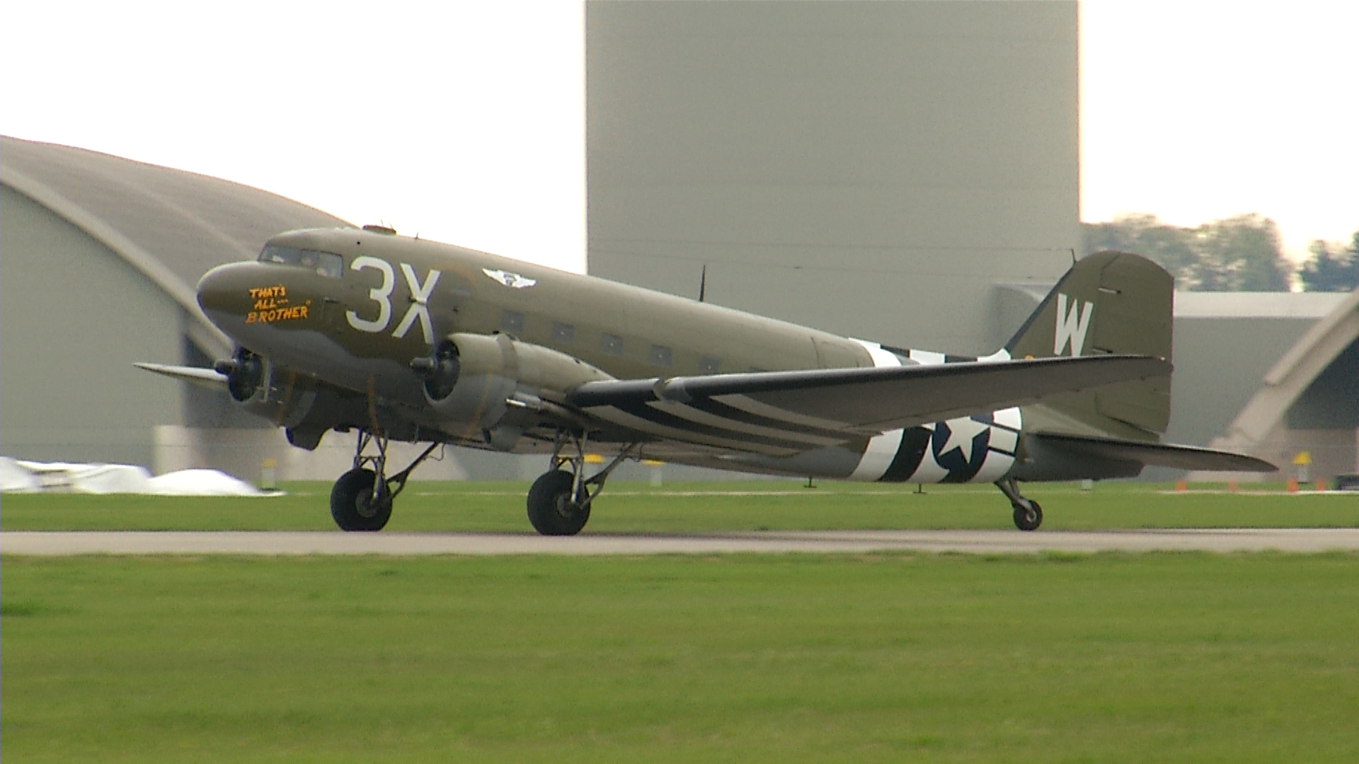 WWII C47 aircraft