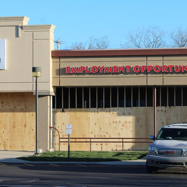 Employment Opportunity Center construction