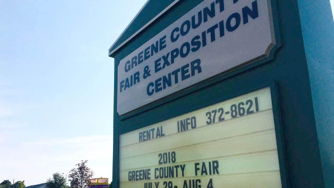 Greene County Fair Sign