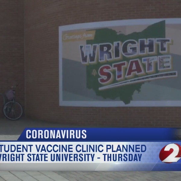 Wright State University's vaccine clinic for students