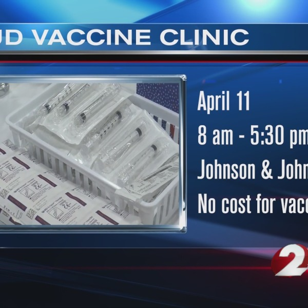 Details of vaccination clinic for UD students