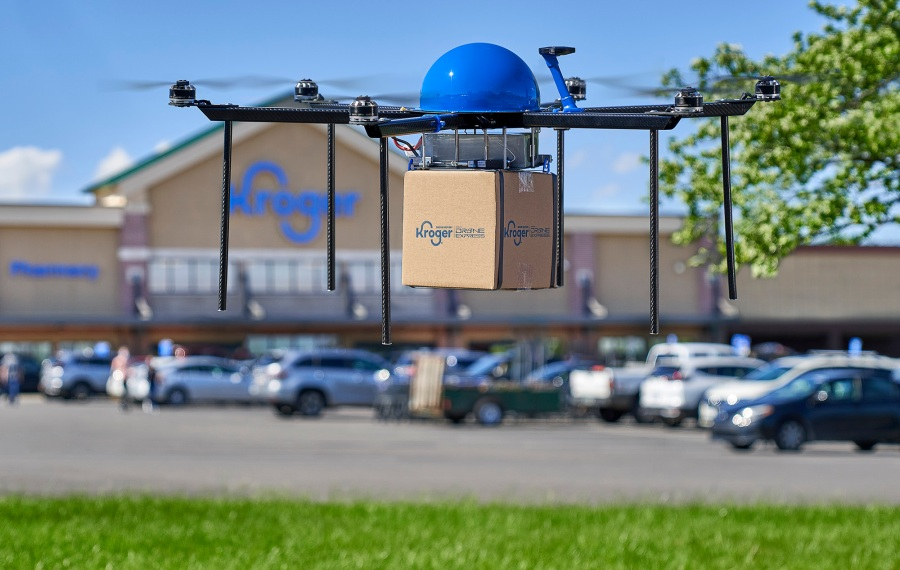 Kroger Delivery x Drone Express 05