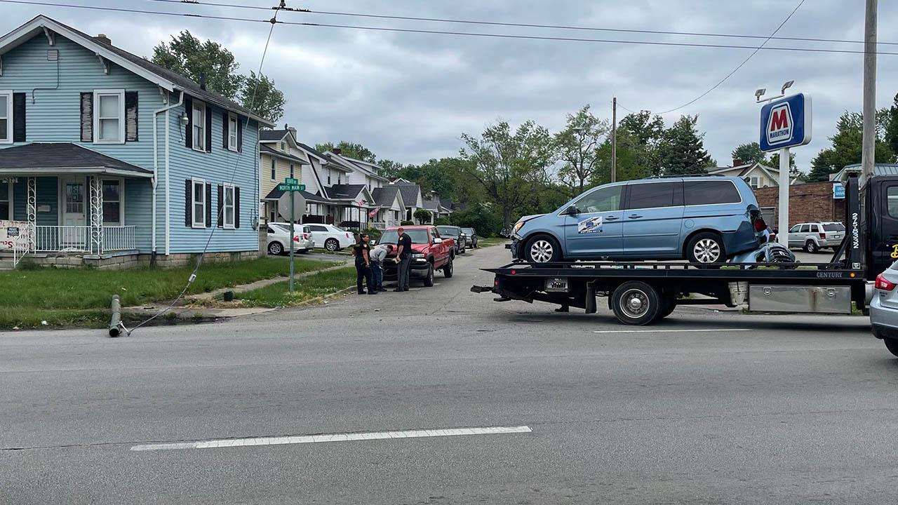 North Main Street and Redder Avenue crash