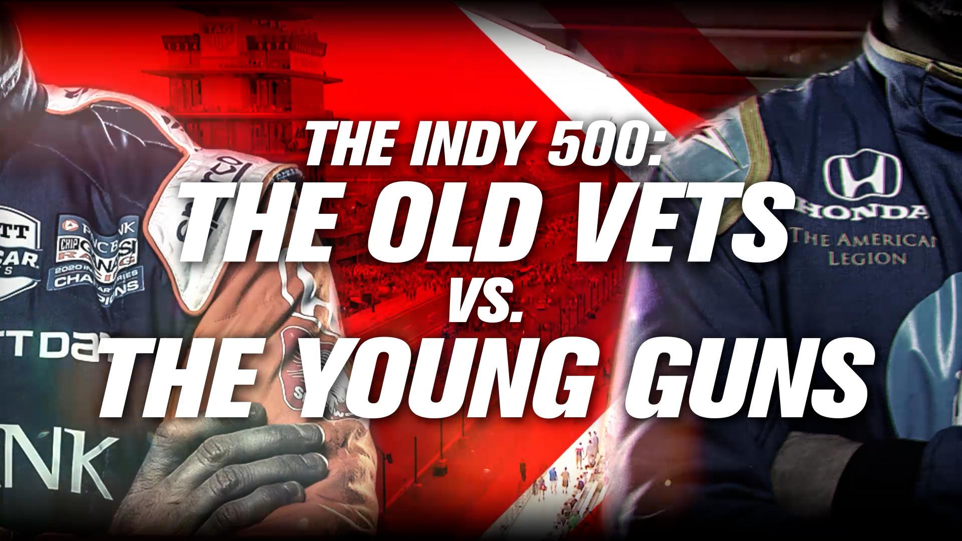 Indy 500 Old Vets v Young Guns