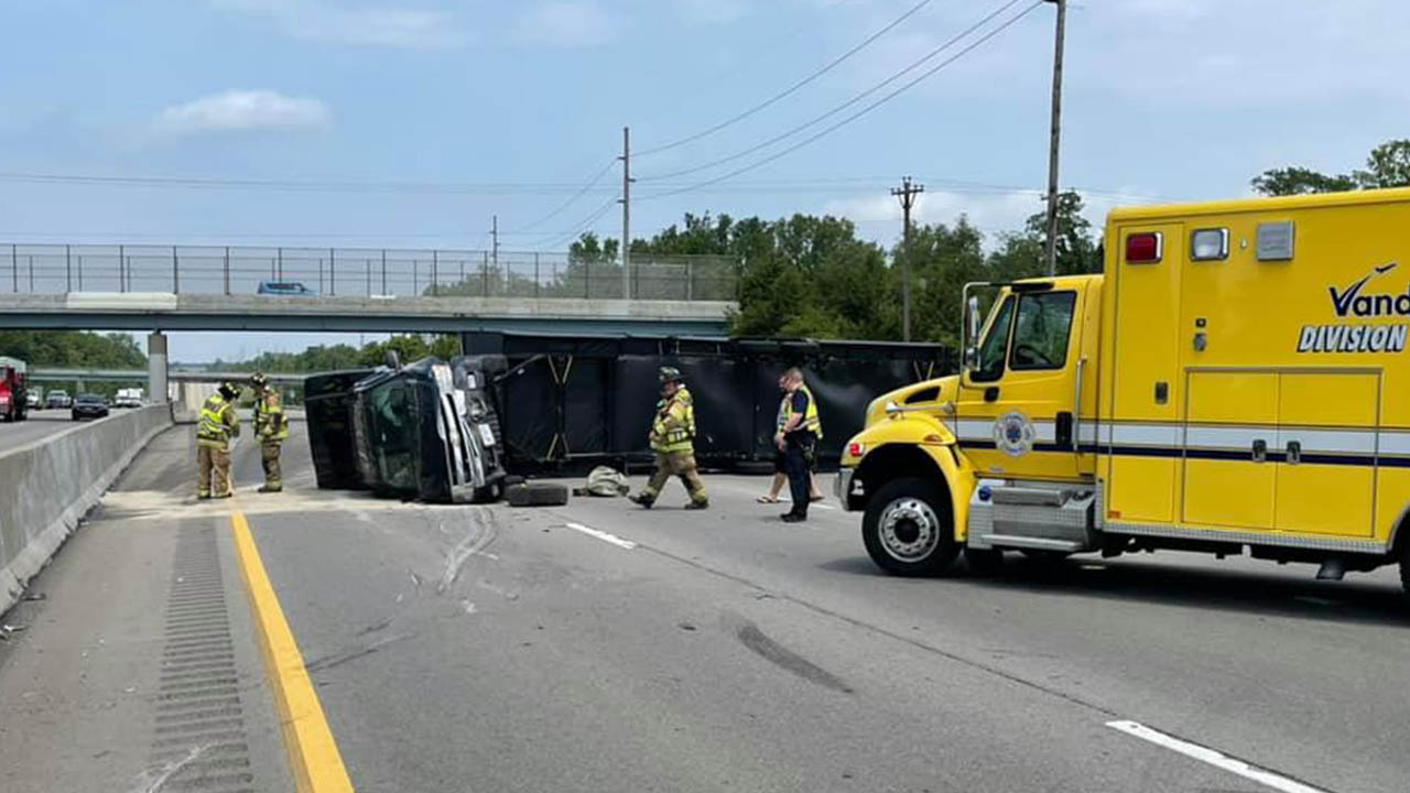 i-75 north crash