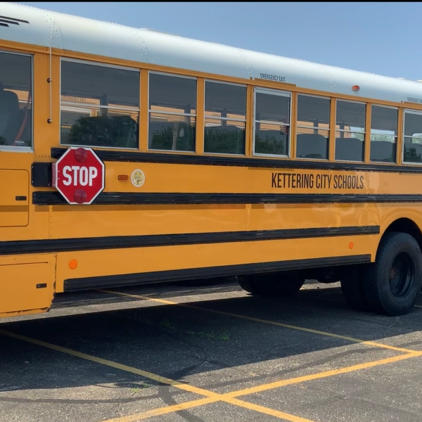 Kettering City Schools School Bus