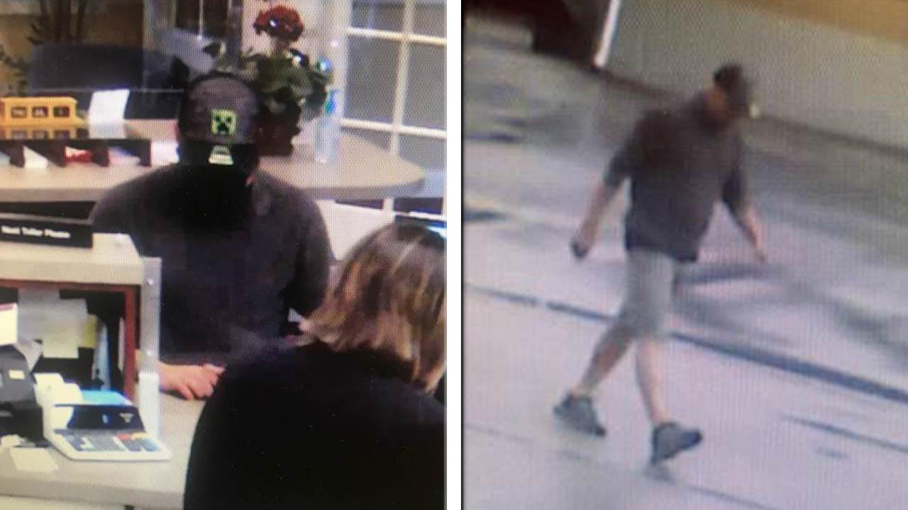 7-1 Urbana Bank Robbery Suspect