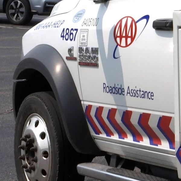 AAA Tow Truck (WDTN Photo)