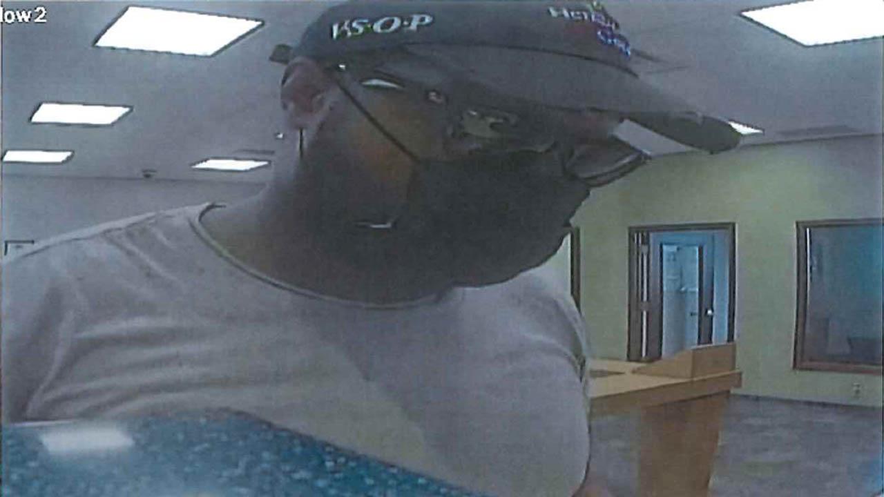 Credit Union robbery suspect