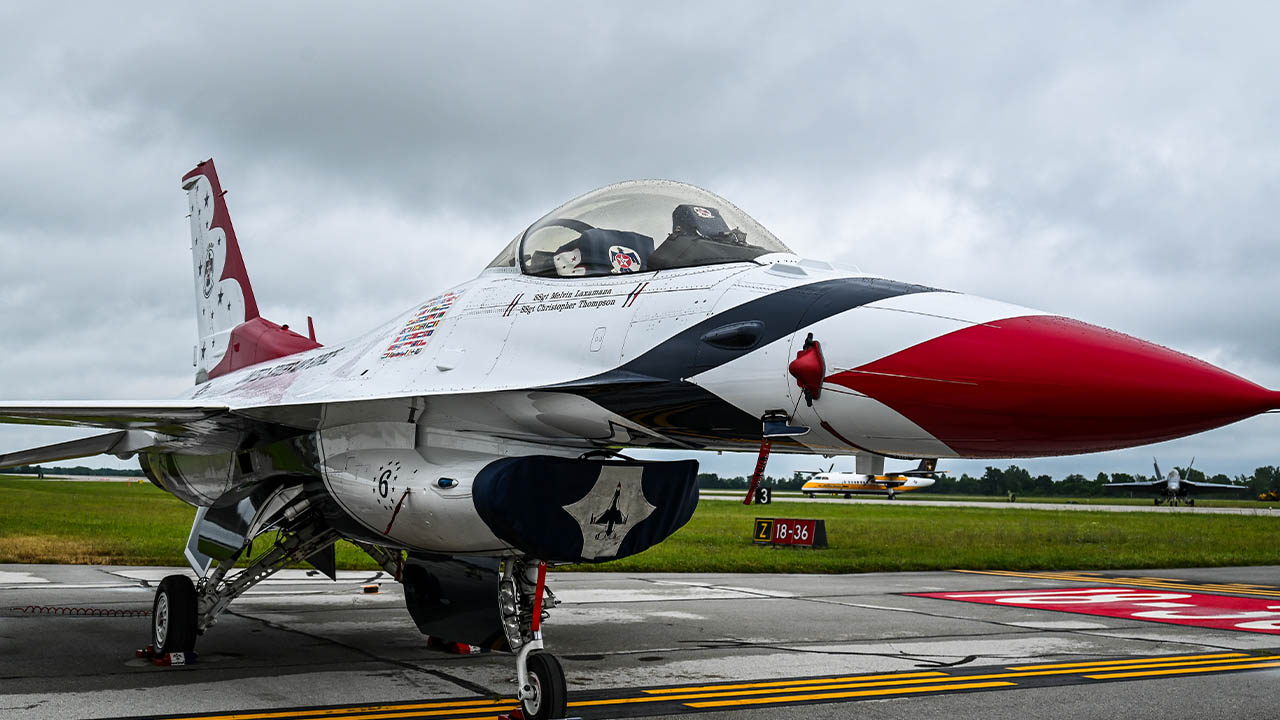 Dayton Air Show Day 2
