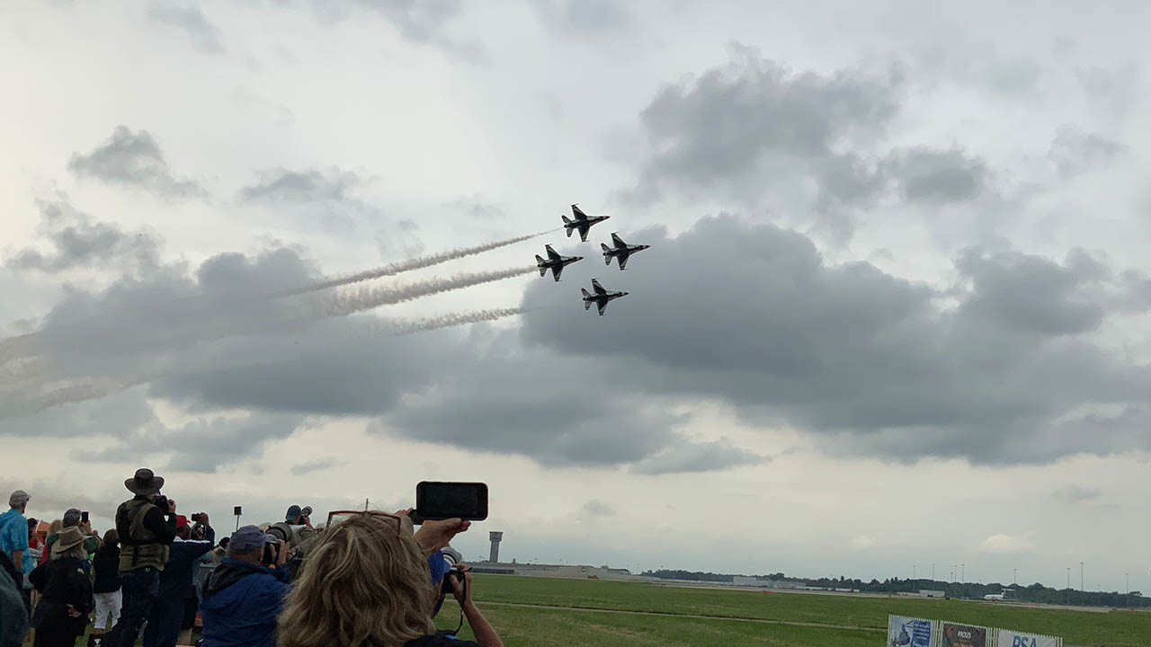 Dayton Air Show Saturday 2