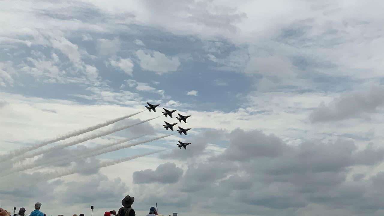 Dayton Air Show Saturday