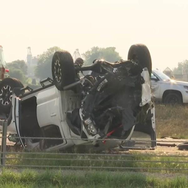 I-75 SB crash