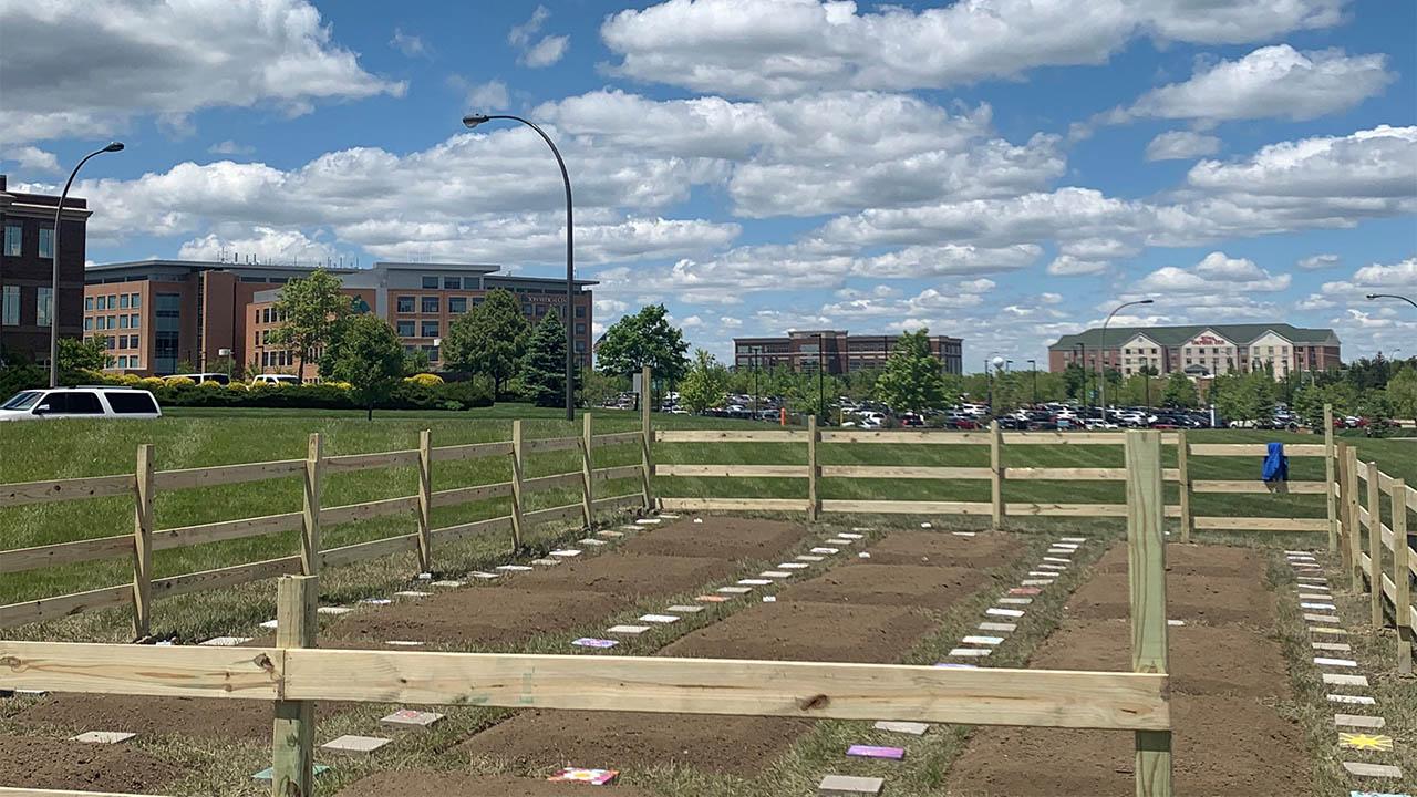 Kettering Health community garden