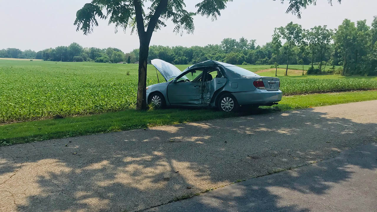 Trotwood crash