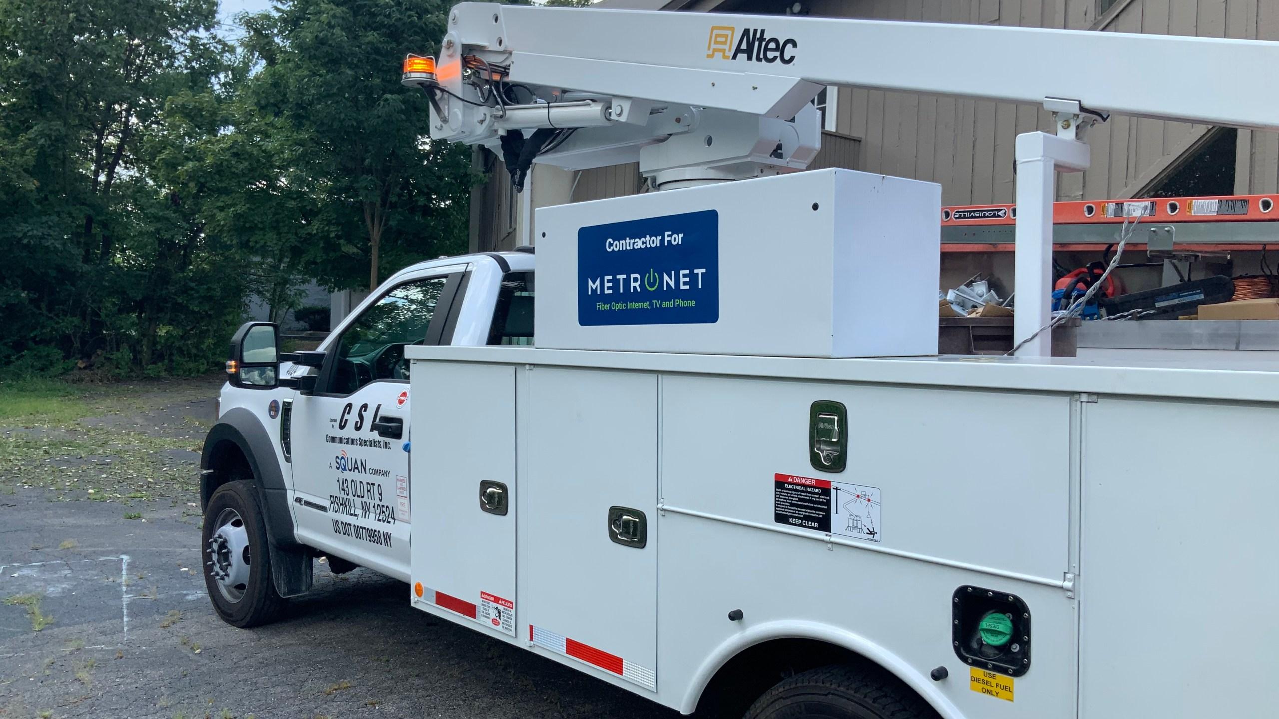 MetroNet truck
