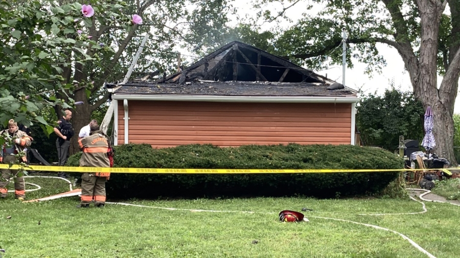 Fire Miami County roof