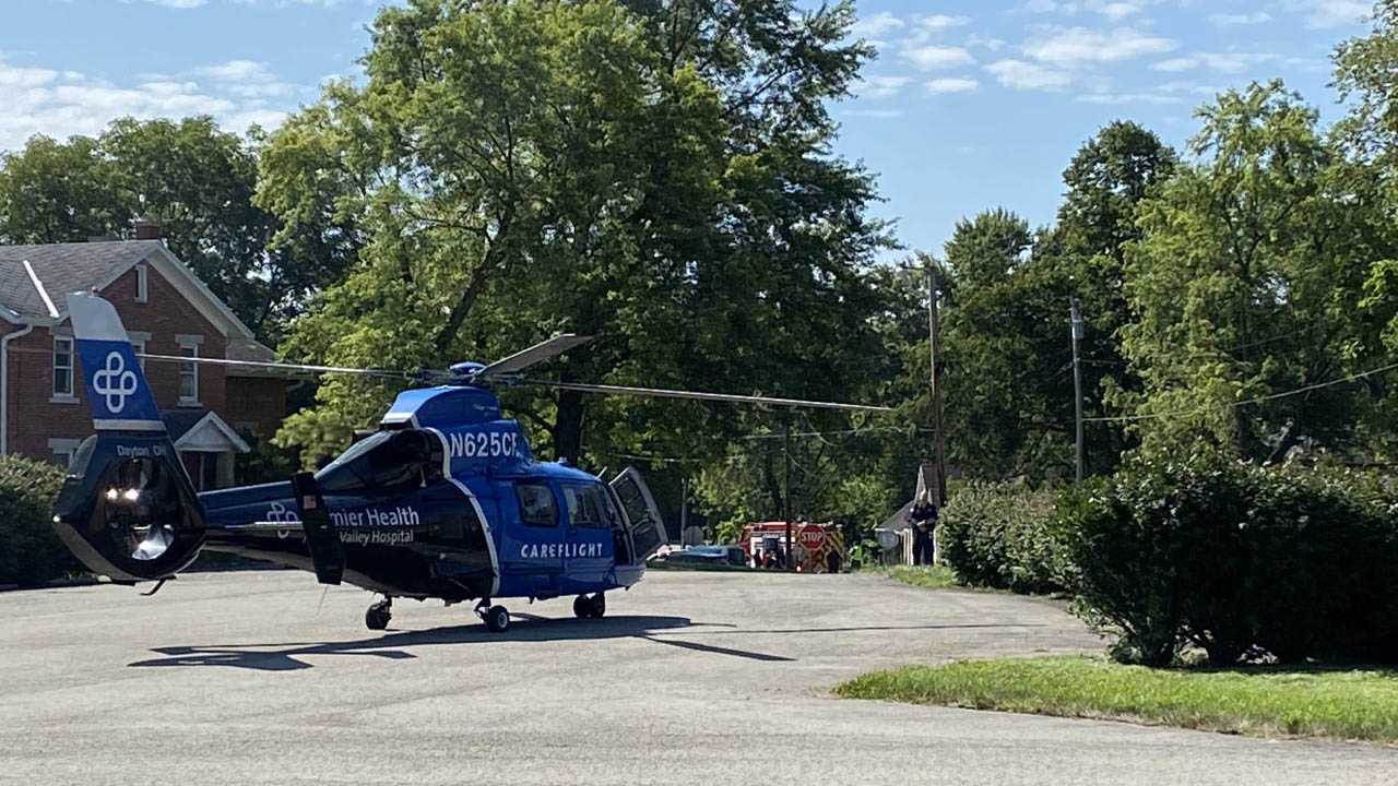 Germantown Pike and Infirmary Road crash