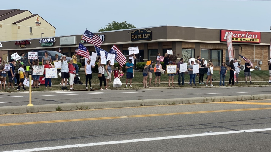 Kettering Health protest 2