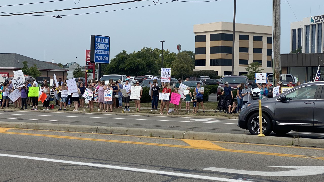 Kettering Health protest 3