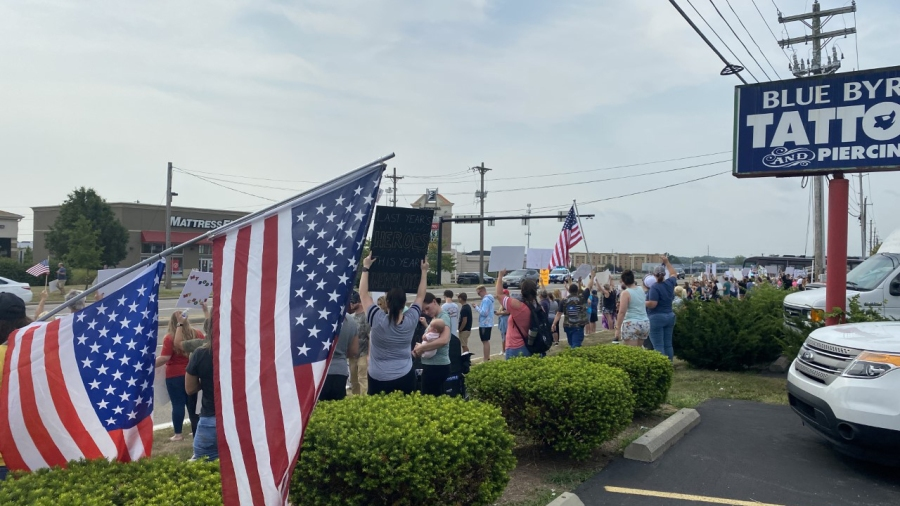 Kettering Health protest 5